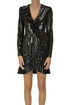 Reptile effect eco-leather dress MSGM