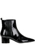 Laila patent-leather ankle-boots Kendall+Kylie