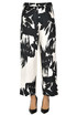 Cropped cotton trousers Dries Van Noten
