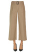 Cropped cotton trousers 'S  Max Mara