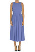 Pleated cotton dress Alysi