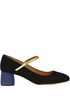 Suede Mary Jane pumps Chie Mihara
