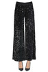 Sequined trousers D'elle