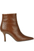 Reptile print leather ankle boots Marc Ellis