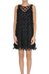 Fringed tulle dress Motel
