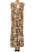 Printed cotton long dress Sunbunch