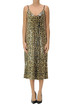 Sequined animal print slip dress ITMFL