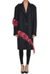 Ratti Bis coat with feathers Dries Van Noten