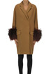 Fur cuffs coat Dondup
