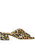 Animal print haircalf mules Alberto Gozzi