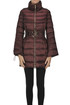Quilted long down jacket Nenette