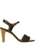 Woven leather sandals Anthology Paris