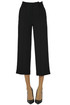 Cropped crepè trousers Vince