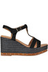 Suede wedge sandals Carmen Saiz