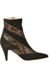 Suede ankle-boots Gia Couture