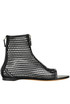 Cut-out neoprene ankle-boots Givenchy