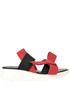 Stretch fabric sandals Rapisardi