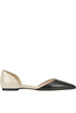 Two tone leather ballerinas Marc Ellis