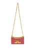Eco-leather mini shoulder bag Elisabetta Franchi
