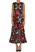 Crepè long dress RED Valentino