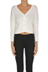 Cropped cardigan Base Milano