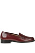 Brushed leather loafers Semicouture