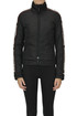 Biker style down jacket Dsquared2