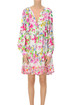 Flower print viscose dress Ermanno by Ermanno Scervino