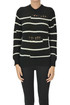 Used effect striped pullover Iro