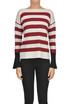 Striped merinos wool pullover Archivio B