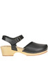 'Tea' leather clogs Antidoti