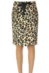 Animal print skirt Moschino Boutique