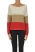 Color block pullover Semicouture