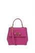Carrie Pebble Grainy leather bag Salvatore Ferragamo