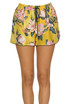 Flower print silk shorts F.R.S for Restless Sleepers