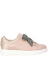 Embellished satin sneakers 181