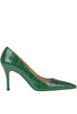 Crocodile print leather pumps Roberto Festa