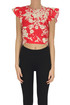 Cropped cotton top RED Valentino