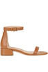 Lessnudist leather sandals Stuart Weitzman