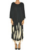 Fringed long dress Giacobino