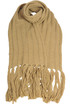 Ribbed knit scarf Gotha