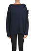 Ribbed cashmere knit pullover Stella McCartney