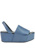 Leather wedge sandals Balear Mania