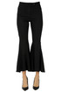 Flared leg cropped trousers, Department 5