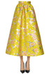 Brocade fabric full skirt MSGM
