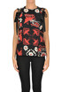 Flower print silk top RED Valentino