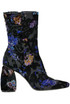 Velvet embroidery ankle-boots Strategia
