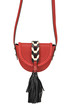 Leather shoulder bag RED Valentino