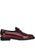 Patent-leather loafers Island