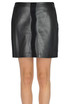 Leather mini skirt Pinko